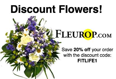 fleurop floral discount code